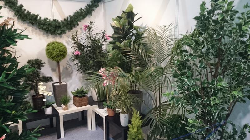 výstava umělé rostliny - studiogreen