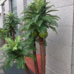 venkovní umělé palmy