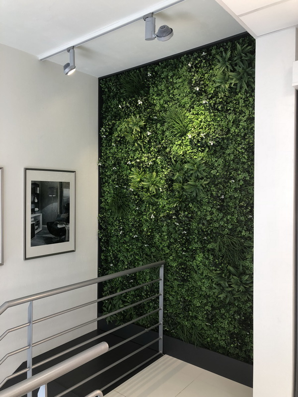 umělá živá stěna, vertikální zahrada