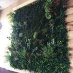 umělý mech na stěny - vertikální mechová zahrada