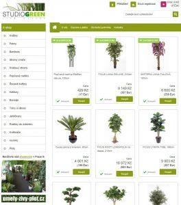 luxusní umělé rostliny umelekevetiny.net