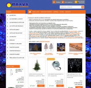 dexys vánoční osvětlení